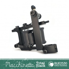 "Bue 2530 - ""Macchinetta"" Total Black"